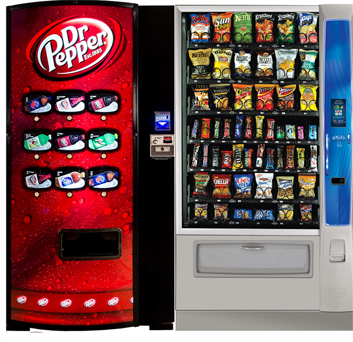 Vending machines in Dallas Fort Worth, DFW