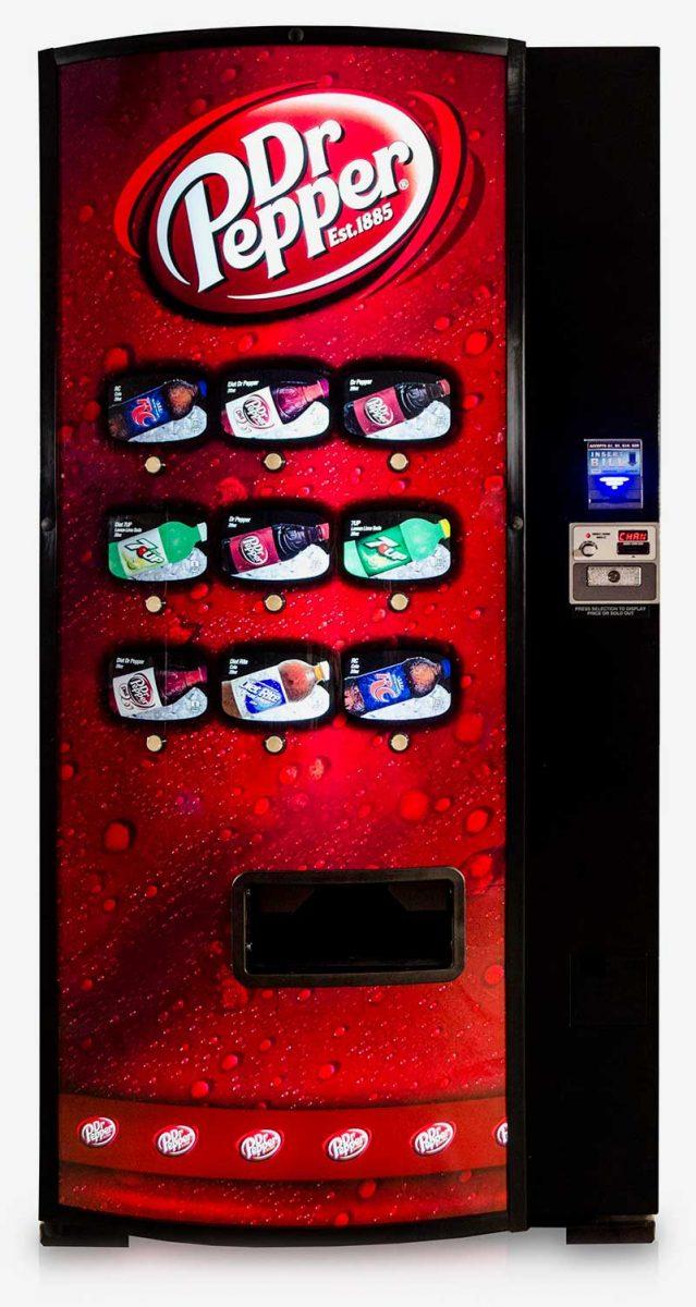 Dallas Forth Worth beverage vending machines