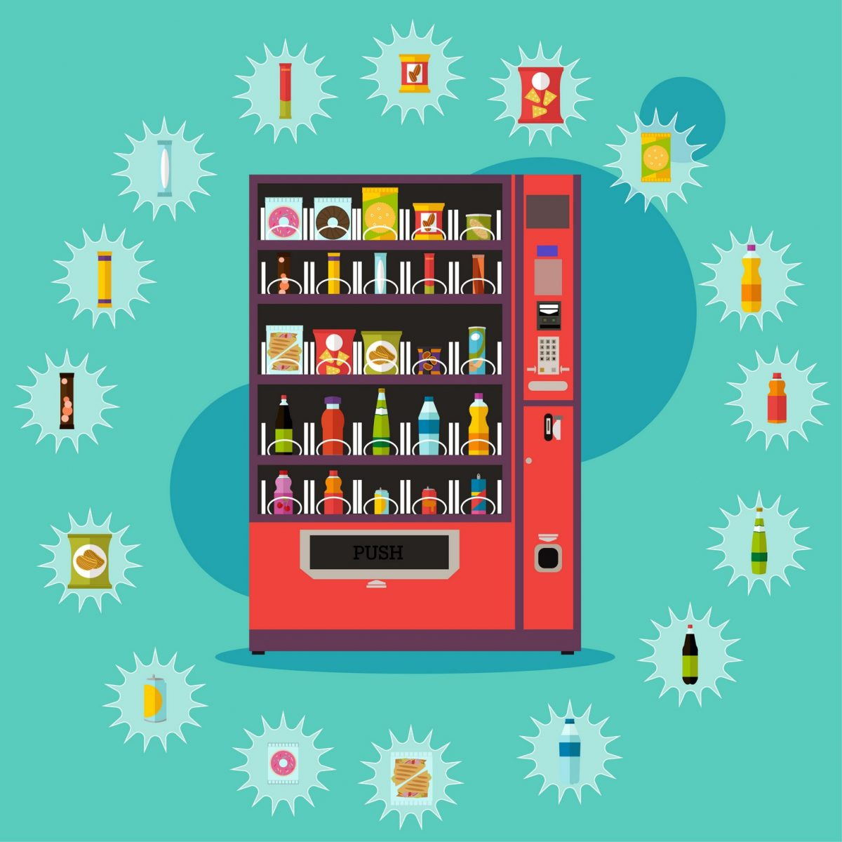 Dallas Fort Worth Employee Perks | Refreshing Drink | Snack Vending | Refreshment Services